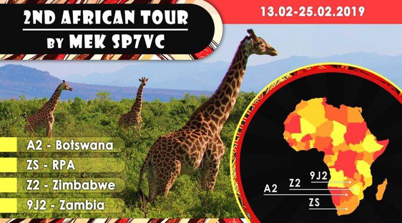 [Aktualizacja]-Mek SP7VC&Kasia SQ7OYL w RPA.